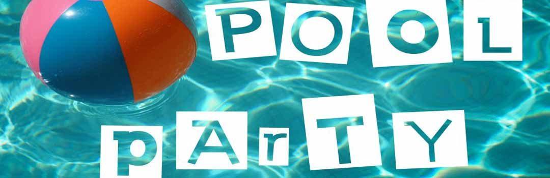 Pool-Party zur Einweihung